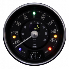 SWIND EV Speedometer Assembly (Classic Mini Central Dashboard Version)